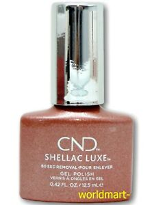 CND SHELLAC LUXE Gel Color 0.42fl.oz NEW FORMULA Luxe300- Chandelier