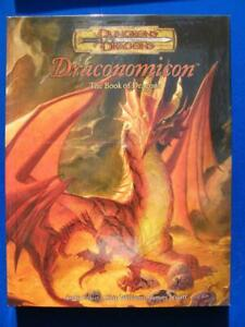 Draconomicon The Book Of Dragons - Dungeons & Dragons D&D 1st Print 2003 - VG+