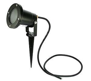 LED Bodenstrahler PIA 230Volt Garten Aufbauleuchte IP68 Teichlampe Außenstrahler