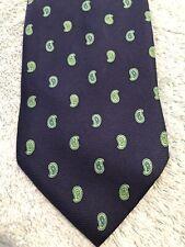 Men's SAM JAMES 100% Silk Tie Blue Striped Business Formal Necktie Office Shirt