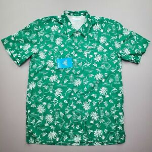 NEW Columbia Men's PFG FM7011 Size Small Trollers Best S/S Vented Shirt Green