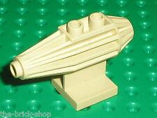 Reacteur beige LEGO STAR WARS Tan Jet Engine ref 30358 / set 7110 Landspeeder