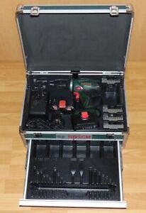 Bosch PSR 14,4 Akku-Bohrschrauber mit 2 Akkus & Bosch Werkzeugkoffer