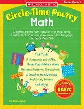 Circle-Time Poetry: Math: Delightful Poems With Activities That Help Young