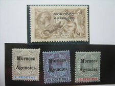 GB MOROCCO AGENCIES LH* & FINE USED STAMPS LUXE!!!