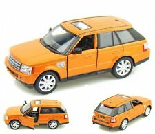 New Kinsmart Land Rover Range Rover Sport Diecast Model Toy SUV 1:38 Orange