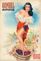 GONDEL - Zeitschrift Magazin - Heft 11 von 1951 - Models Musik Stories - B16801