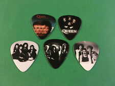 Lot of (5) Novelty Guitar Pick - Queen - Group Band Photo Fast! Freddie Mercury