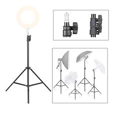 200cm Metal Light Stand tripod light holder with 1/4 screw for LED Ring Light