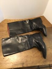 "Unisa Black Riding Boots Womens Size 8 Leather 16"" Tall"