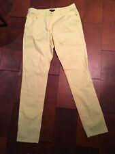 H&M yellow jeans, NWT, women's 42