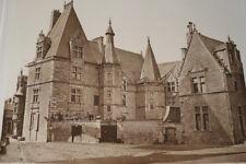 LE MANS HOTEL DU GRABATOIRE GRAVURE PHOTO 1910 ARCHITECTURE FRANCE R2463