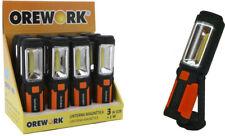 LINTERNA LED 3 W COB + 1 W OREWORK 5525 + PILAS