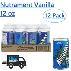 Nutrament Vanilla Complete Nutritional Drink 12 oz (Pack of 12) - Bulk Sale