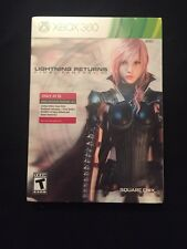 XBOX 360 LIGHTNING RETURNS FINAL FANTASY XIII STEELBOOK GAME NEW