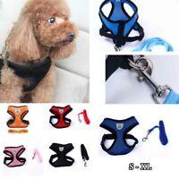 Pet Dog Cat Puppy Mesh VEST Breathable Adjustable Harness Braces Clothes