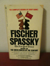 Fischer Spassky by Richard Roberts Chess 1972 Chess Match Book Paperback