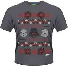 Star Wars - Vader Fair Isle T-Shirt Homme / Man - Taille / Size S PLASTIC HEAD