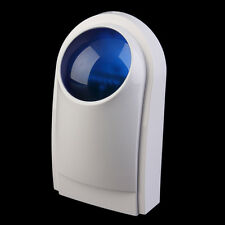 External Outdoor Waterproof Alarm Siren Strobe Security Alarm System IM