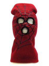 Spiderman Kid Beanie Face Mask Ski Mask Halloween Costume Accessories