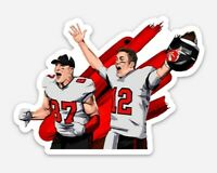 Tom Brady & Rob Gronkowski MAGNET - Tampa Bay Buccaneers Go Bucs Florida Gronk