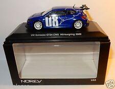 NOREV VW VOLKSWAGEN SCIROCCO 08 GT 24TH CNG NURBURGRING 2009 1/43 BOX REF 840193