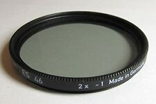 Lens Filter Heliopan  ES  46mm  2x -1 made in Germany