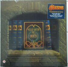 Solid Book Of Rock by Saxon (11CD's/3 NTSC DVD's, Box Set, 2017, Edsel) NEW