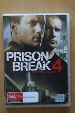 Prison Break : Season 4 (DVD, 2009, 7-Disc Set)   Preowned (D214)