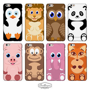 Cute Animal Cases for iPhone Models. Irresistible Creature Cartoon Covers