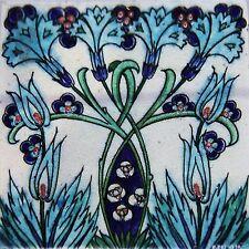 Art Nouveu William de Morgan  Ceramic Wall Tile 6 X 6 Inches Reproduction #29