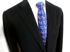 Turnbull & Asser Woven Silk Tie Luxury Handmade - Warrant HRH Prince of Wales