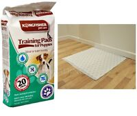 20 x House Training Pads For Puppy Pet Dog Wee Ultra Absobent Odour Eliminating