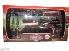 Classic Express Children's Train Set with Tender and Tanker Headlight & Sound