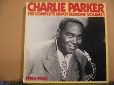 CHARLIE PARKER-complete Savoy sessions vol 1 1944-45 - Free UK POST