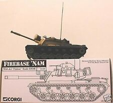 CORGI MILITARY Firebase 'Nam M48-A3 Patton Tank - US50302