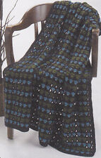 Crochet Pattern ~ Eco Throw Afghan ~ Instructions