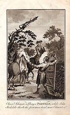 1795 Aufdruck ~ Stockdale & Johnson Raubende Jagd Murdering Postman Nr Edmonton