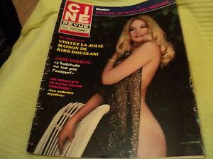 "RARE! REVUE ""CINE TELE REVUE N°6 - 1979"" Jane BIRKIN, Kirk DOUGLAS"
