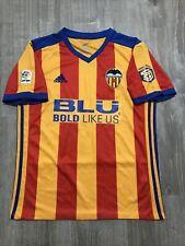 Adidas Valencia Cf Blu Soccer Football Jersey Shirt (Mens Medium)