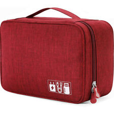 Electronic Accessories Case Bag USB Travel Storage Bag Organizer cosmetic Bag