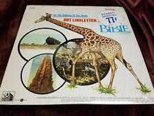 ART LINKLETTER -THE BIBLE-JOHN HUSTON-PETER O'TOOLE-AVA GARDNER-LP-SEALED-NEW!