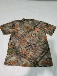 Cabelas Bad Duck Camo T-shirt M Reg Hunting Zone