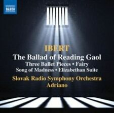 IBERT: THE BALLAD OF READING GAOL; THREE BALLET PIECES; FAIRY SONG OF MADNESS; E