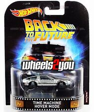 TIME MACHINE HOVER MODE Back to the Future - 2017 Hot Wheels Retro Entertainment