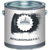 Lausitzer Farbwerke Metallschutzlack 3 in 1 2,5L 5L 10L RAL 7016 Anthrazitgrau