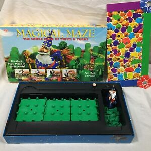 Magical Maze The Simple Game Of Twists And Turns University Board Game Vtg 1996