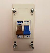 Proteus Double Pole Isolator Switch 100 Amp