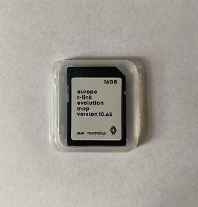 LATEST RENAULT TomTom R-LINK V10.65 SD CARD NAVIGATION SAT NAV MAP 2021