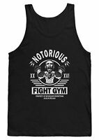 NOTORIOUS FIGHT GYM VEST T SHIRT CONOR MCGREGOR TANK TOP MMA